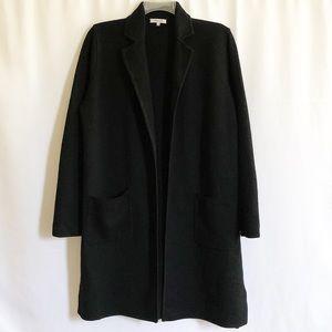 Madewell Camden Sweater, Merino Wool, Black, Sz L